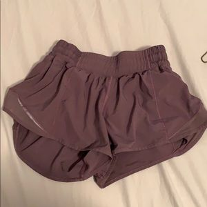 Lilac purple lululemon shorts for sale!